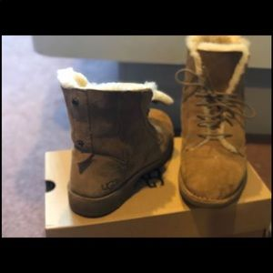 Women's Ugg ankle boots